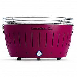Bezdymový gril LotusGrill XL fialový