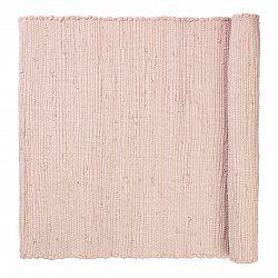 Blomus Bavlnený koberček SOLO svetloružový 60 x 90 cm