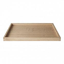 Blomus Dřevěný tác BORDA 30x30 cm