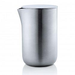 Blomus Kanvička na mlieko/smotanu s viečkom z nehrdzavejúcej ocele 120 ml BASIC
