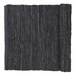 Blomus Koberček CARPO sivočierny 70 x 130 cm