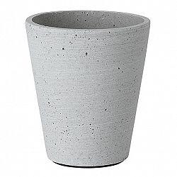 Blomus Kvetináč Coluna svetlosivý Ø 11 cm