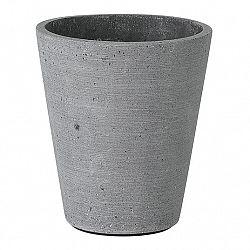 Blomus Kvetináč Coluna tmavosivý Ø 11 cm