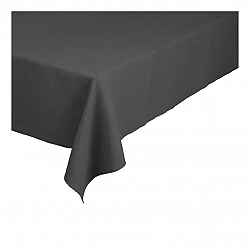 Blomus Ľanový obrus Lineo sivočierny 160 x 300 cm