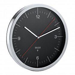 Blomus Nástenné hodiny rádiovo riadené RONO čierne Ø 24 cm