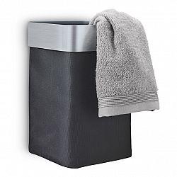 Blomus Nástenný kôš na uteráky/bielizeň antracitový matný NEXIO