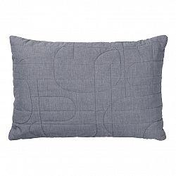 Blomus Obliečka na vaknúš STRIPE sivočierna 60 x 40 cm