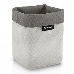 Blomus Obojstranný košík na kozmetické potreby malý pieskový/hnedosivý ARA
