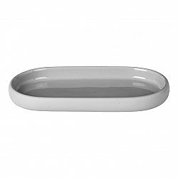 Blomus Odkladacia miska na mydlo SONO svetlosivá