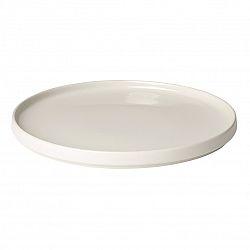 Blomus Plytký tanier Mio krémový