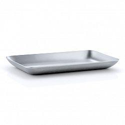 Blomus Podnos z nehrdzavejúcej ocele 10 x 17 cm BASIC