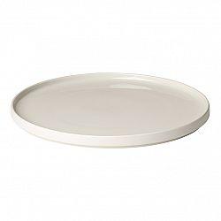 Blomus Servírovací talíř PILAR 35 cm, krémový