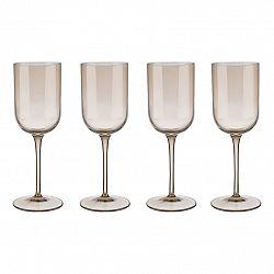 Blomus Súprava 4 pohárov na biele víno FUUM zlatisté sklo