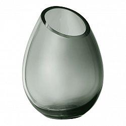 Blomus Váza 16,5 cm DROP dymové sklo