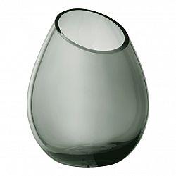 Blomus Váza 24 cm DROP dymové sklo