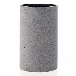 Blomus Váza Coluna veľkosť S tmavosivá