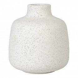 Blomus Váza RUDEA biela Ø 12 cm