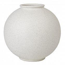 Blomus Váza RUDEA biela Ø 22,5 cm