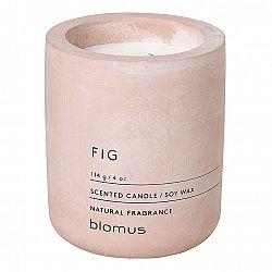 Blomus Vonná sviečka zo sójového vosku FRAGA svetloružová Ø 6,5 cm