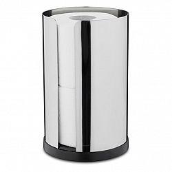 Blomus Zásobník na 2 rolky toaletného papiera leštená nehrdzavejúca oceľ NEXIO