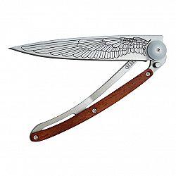 deejo Vreckový nôž tattoo 37 g rosewood Wing