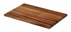 Doska na krájanie drevená Continenta 26 x 16,5 x 1,2 cm