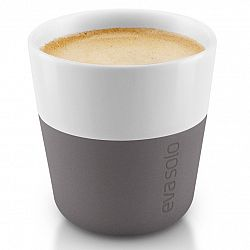 Eva Solo Termošálky na espresso 80 ml 2 kusy sivá
