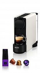 Kávovar na kapsle KRUPS Essenza Plus White & Aeroccino