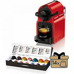 Kávovar na kapsle KRUPS Inissia červený