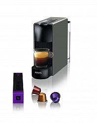 Kávovar na kapsule KRUPS Essenza Mini šedý