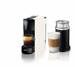 Kávovar na kapsule KRUPS Essenza Mini White & Aeroccino