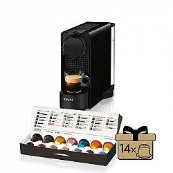 Kávovar na kapsule KRUPS Essenza Plus čierny