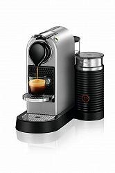 Kávovar na kapsule KRUPS Nespresso Citiz & Milk strieborný