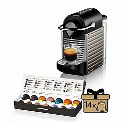 Kávovar na kapsule KRUPS Pixie Electric Titan