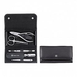 Manikúra 5-dielna ZWILLING® Classic Inox čierna s kliešťami na nechty