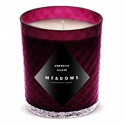 Meadows Vonná sviečka Ambrosia Allure medium fialová