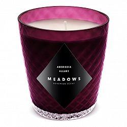 Meadows Vonná sviečka Ambrosia Allure mini fialová