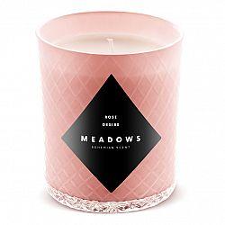 Meadows Vonná sviečka Rose Desire medium ružová
