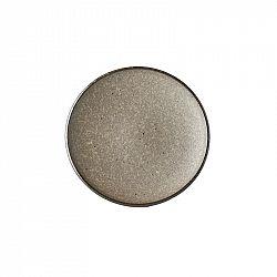 MIJ Plytký tanier na tapas Earth Black 17 cm