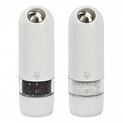 Peugeot Darčeková súprava elektrických mlynčekov na korenie a soľ biely ALASKA