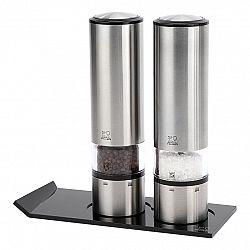 Peugeot Darčeková súprava ELIS SENSE DUO, elektrický mlynček na soľ, korenie a stojanček