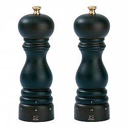 Peugeot Darčeková súprava mlynčekov na korenie a soľ PARIS uSelect čokoládová, bukové drevo 18 cm
