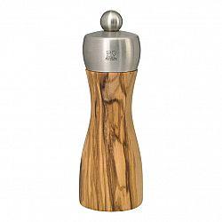 Peugeot Mlynček na soľ FIDJI olivové drevo/nehrdzavejúca oceľ 15 cm