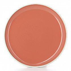 REVOL Tanier na hlavný chod Ø 25 cm oranžová Capucine Color Lab