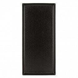 REVOL Tanier/podnos 32,5 x 15 cm matná čierna Equinoxe