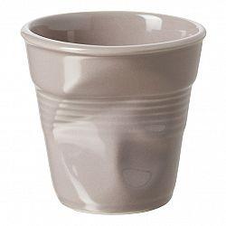REVOL Téglik na cappuccino 18 cl sivohnedý Froissés