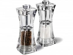 Set mlynčekov na korenie/soľ Cole & Mason Crystal 125 mm