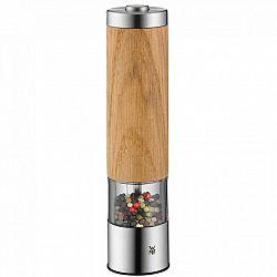 WMF Elektrický mlynček na korenie/soľ s drevom