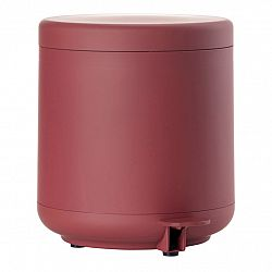 ZONE Kúpeľňový pedálový kôš maroon red UME
