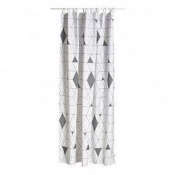 ZONE Sprchový záves 180 x 200 cm grey HARLEQUIN